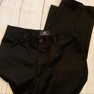 Men's DOCKERS Black Khaki Straight Fit 29 x 30